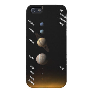 NASAs Planets and dwarf planets Cover For iPhone SE/5/5s