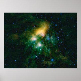 NASAs Pleiades Poster