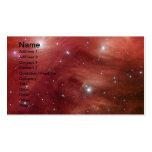 NASAs - Pleiades rosado Tarjeta De Visita