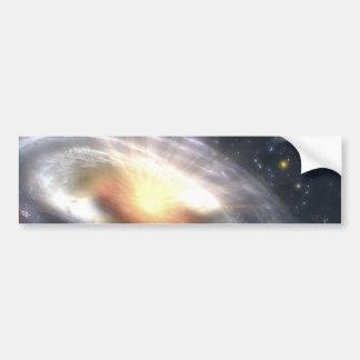 NASAs Quasar Black Hole Bumper Sticker