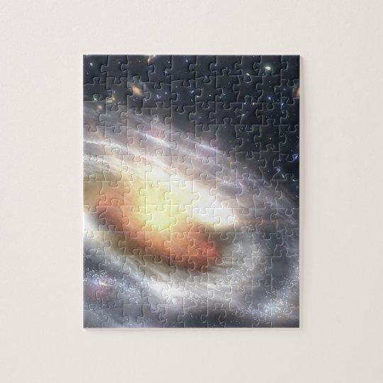 NASAs Quasar Black Hole Jigsaw Puzzle