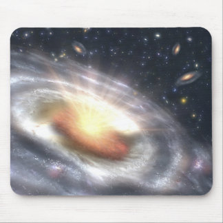 NASAs Quasar Black Hole Mouse Pad