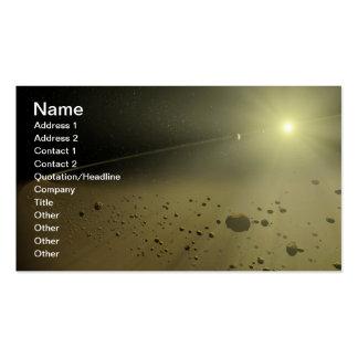 NASAs que desarrolla sistemas planetarios Plantillas De Tarjetas De Visita
