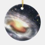 NASAs que estalla con las estrellas y los Adorno Navideño Redondo De Cerámica