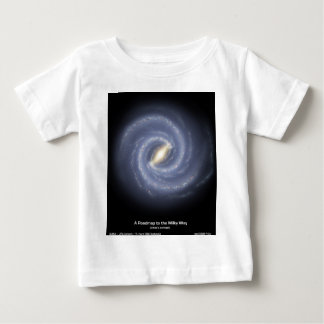 NASA's Road map to the Milky Way Baby T-Shirt