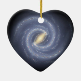 NASA's Road map to the Milky Way Ceramic Ornament