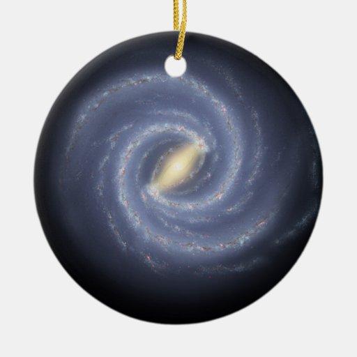 NASA's Road map to the Milky Way Christmas Tree Ornament