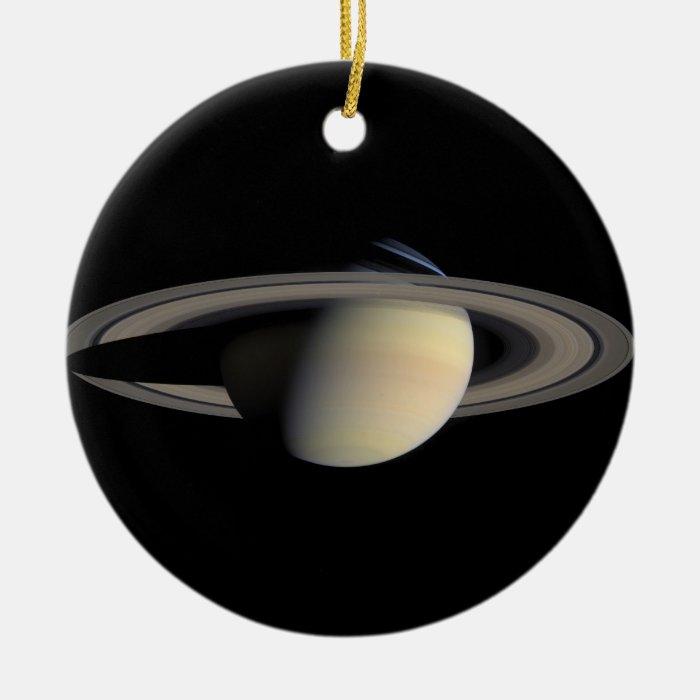 NASAs Saturn Ceramic Ornament