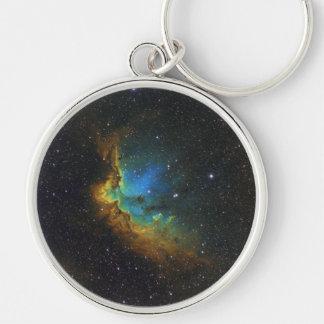 NASAs SH2-142 star cluster Keychain