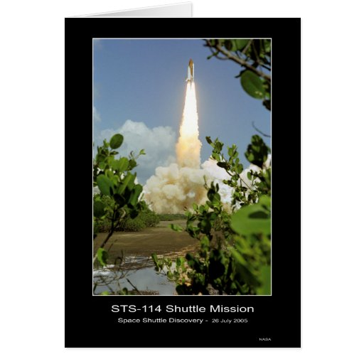 NASA's Space Shuttle Discovery Lift-off – July 26, Cards