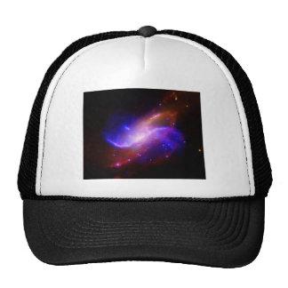 NASAs spiral galaxy M106 Trucker Hat