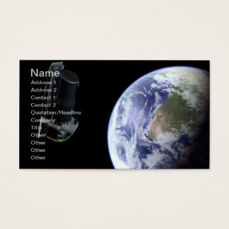 NASAs Spitzer Space Telescope Business Card
