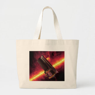 NASAs Spitzer Space Telescope Large Tote Bag