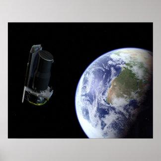 NASAs Spitzer Space Telescope Poster