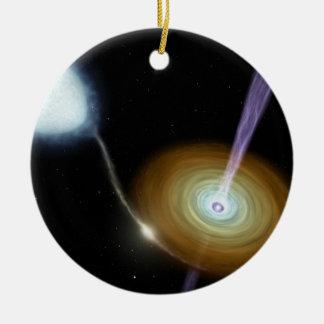 NASAs Stellar Jets Ceramic Ornament