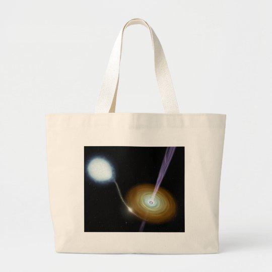 NASAs Stellar Jets Large Tote Bag