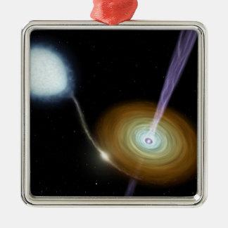 NASAs Stellar Jets Metal Ornament