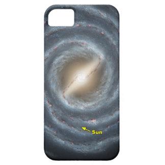 NASAs Sun en la vía láctea iPhone 5 Case-Mate Fundas