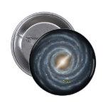 NASAs Sun in the Milky way Button