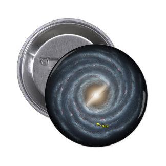 NASAs Sun in the Milky way Pin