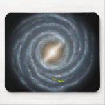 NASAs Sun in the Milky way Mouse Pad