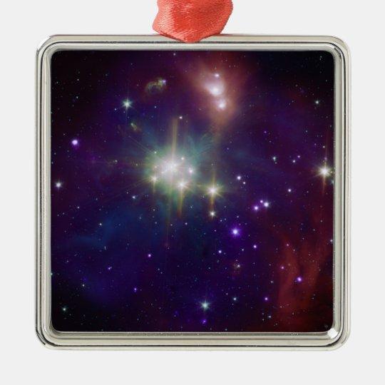 NASAs - The Coronet Cluster Metal Ornament