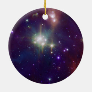 NASAs - The Coronet Cluster Double-Sided Ceramic Round Christmas Ornament
