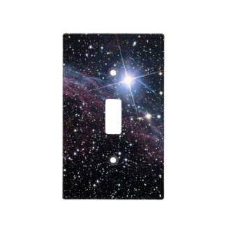 NASAs Veil Nebula Light Switch Plate