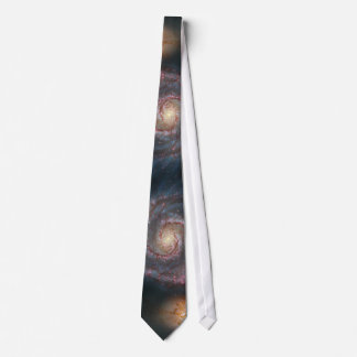 NASAs Whirlpool galaxy Neck Tie