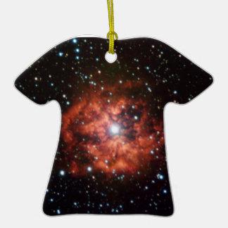 NASAs Wolf-Rayet star Double-Sided T-Shirt Ceramic Christmas Ornament