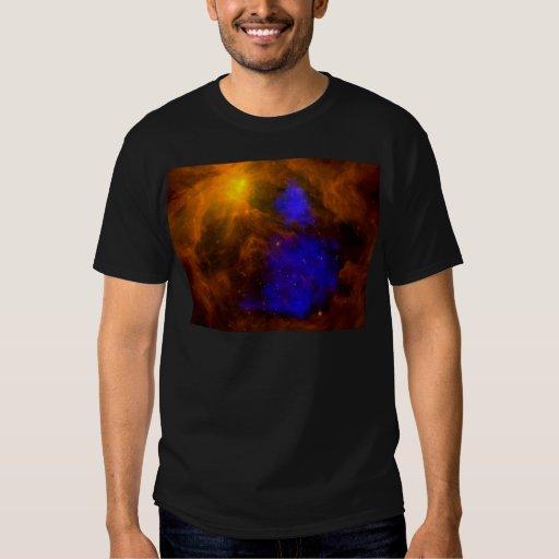 NASAs X-Ray Santa Claus in Orion T-Shirt