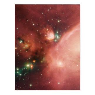 NASAs Young Stars Postcard