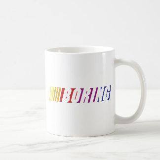 Nascar Boring Classic White Coffee Mug