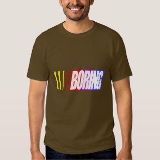 Nascar Boring Shirts