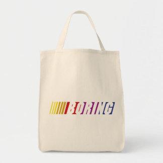 Nascar Boring Tote Bag