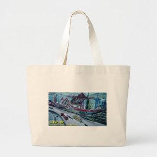 nascar large tote bag