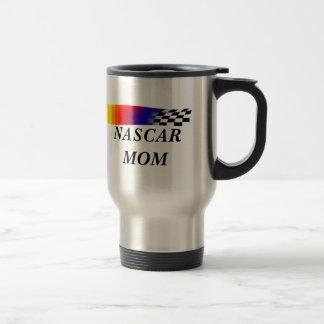 Nascar Mom Drinking Mugs  Custom Travel Mugs