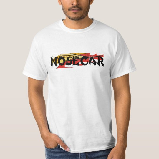 NASCAR now NOSECAR - Zazzke - HOT and FAST T-Shirt
