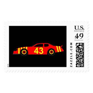 Nascar Postage Stamp