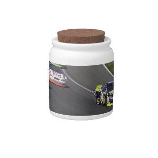 Nascar Race Candy Jar