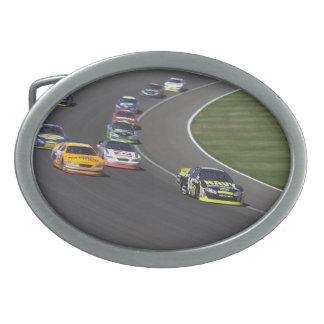 Nascar Race Oval Belt Buckle