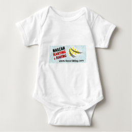 NASCAR RnR Logo (wide) Baby Bodysuit