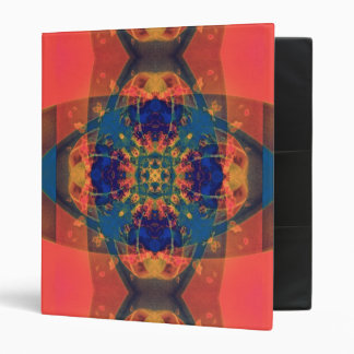 Nascent Yellow Funky Bright Abstract Binder