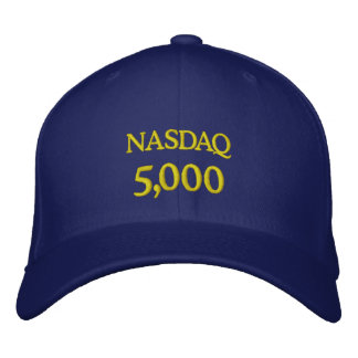 NASDAQ 5000 EMBROIDERED BASEBALL HAT