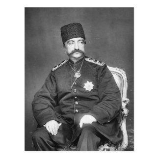 Naser al-Din Shah Qajar of Persia Postcard