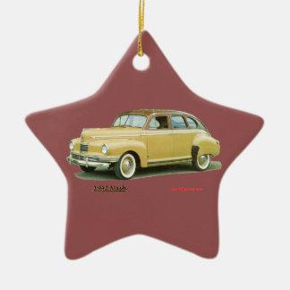 Nash 1942 adorno navideño de cerámica en forma de estrella