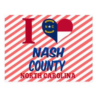 Nash County, North Carolina Postcard