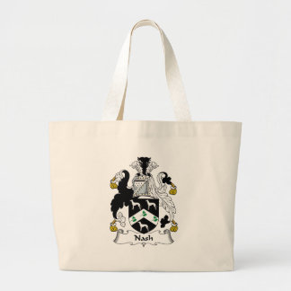 Nash Family Crest Jumbo Tote Bag