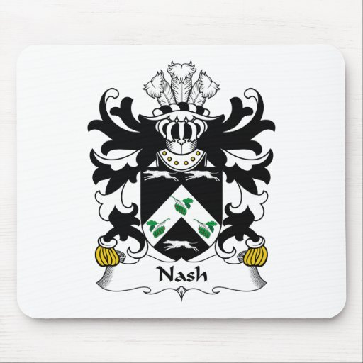 Nash Family Crest Mouse Pads