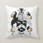 Nash Family Crest Pillows